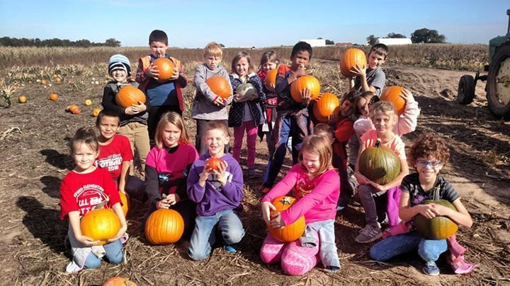 Pumpkin Patch 2nd Grade Field Trip