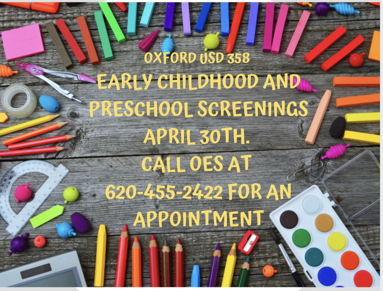 Early Childhood PK Screenings