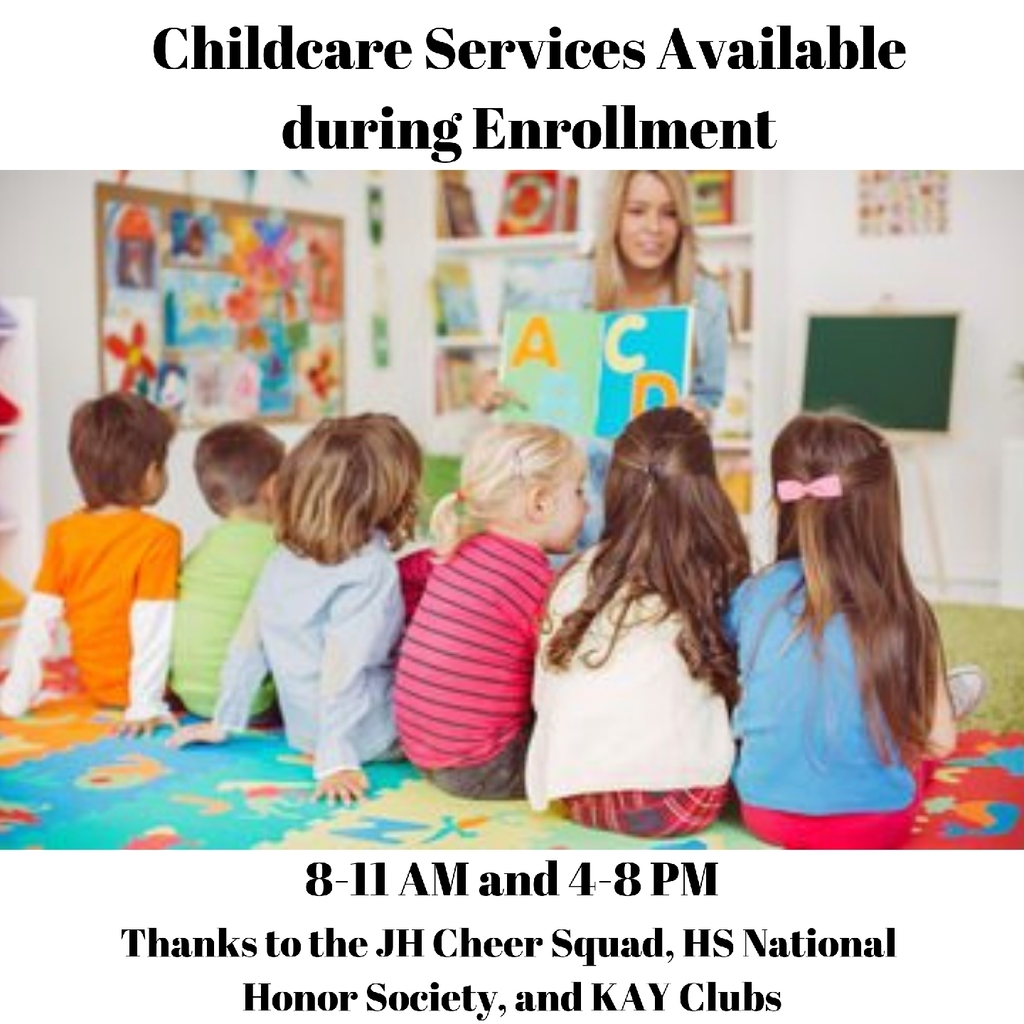 Childcare available during enrollment